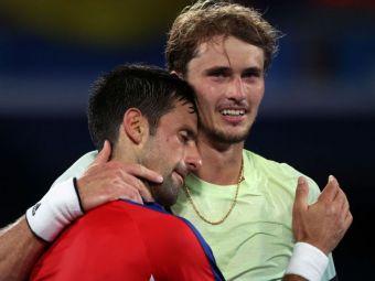 Zverev, în lacrimi după ce l-a eliminat pe Djokovic în semifinale la JO. Sârbul ratează șansa de a face Golden Slam