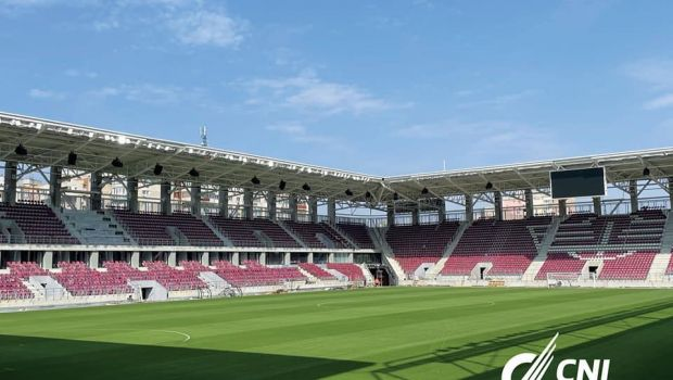 """GALERIE FOTO   """"Mai e puțin!"""" Arena din Giulești, aproape de finalizare. Noi imagini cu stadionul Rapidului"""