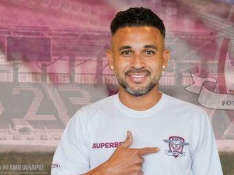 Junior Morais, bornă impresionantă pentru Liga 1! E al treilea stranier din istoria campionatului ca prezențe