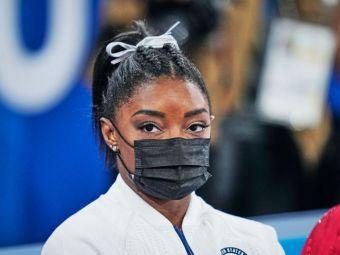 Simone Biles s-a retras și din finala de la sol. Val de susținere din partea vedetelor pentru gimnasta din SUA