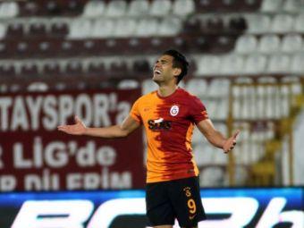 """Cutremur la Galatasaray! Președintele a făcut anunțul: """"Falcao e liber să plece!"""" Ce spune de Moruțan"""