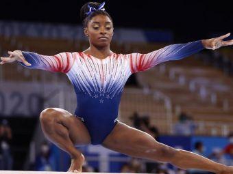 Ce a făcut Simone Biles în finala olimpică de la bârnă, singura probă individuală la care a concurat la Tokyo