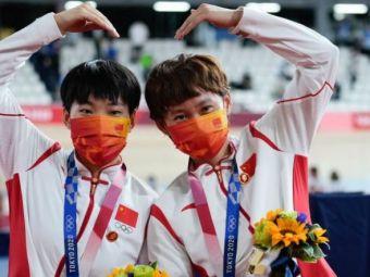 Scandal la Jocurile Olimpice!Fostul dictator a fost omagiat de ciclistele Chinei