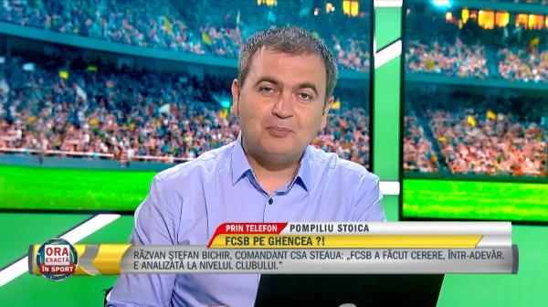 EXCLUSIV | Ianis Stoica, arma secretă de la FCSB! Pompiliu Stoica a vorbit la Ora Exactă în Sport despre fiul său