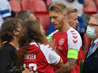 """""""Adevărații eroi sunt Kjaer și medicii"""". Arbitrul de la Danemarca-Finlanda, declarații impresionante despre Eriksen"""