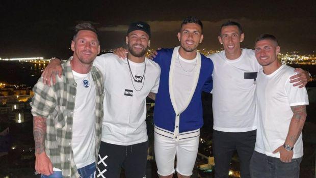 Messi și Neymar, din nou împreună după finala Copa America! Cei doi s-au întâlnit în vacanță