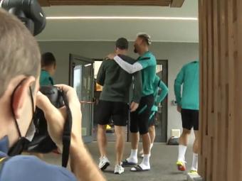 Prima apariție publică a lui Eriksen după șocul de la Euro 2020! Atacantul s-a întâlnit cu colegii de la Inter