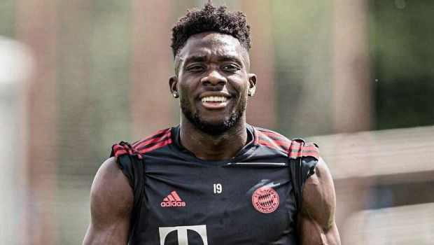 """""""Fulgerul"""" Davies, trecut pe """"dieta Goretzka"""" de Bayern! Transformarea spectaculoasă a jucătorului canadian"""
