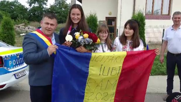 Reportaj cu Simona Radiș din Avrămeni, comuna în care s-a născut! Ce a spus campioana olimpică (P)
