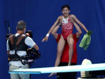Perfecțiunea există la Tokyo! O chinezoiacă de 14 ani a reușit două sărituri în apă pentru care a primit nota 10 VIDEO