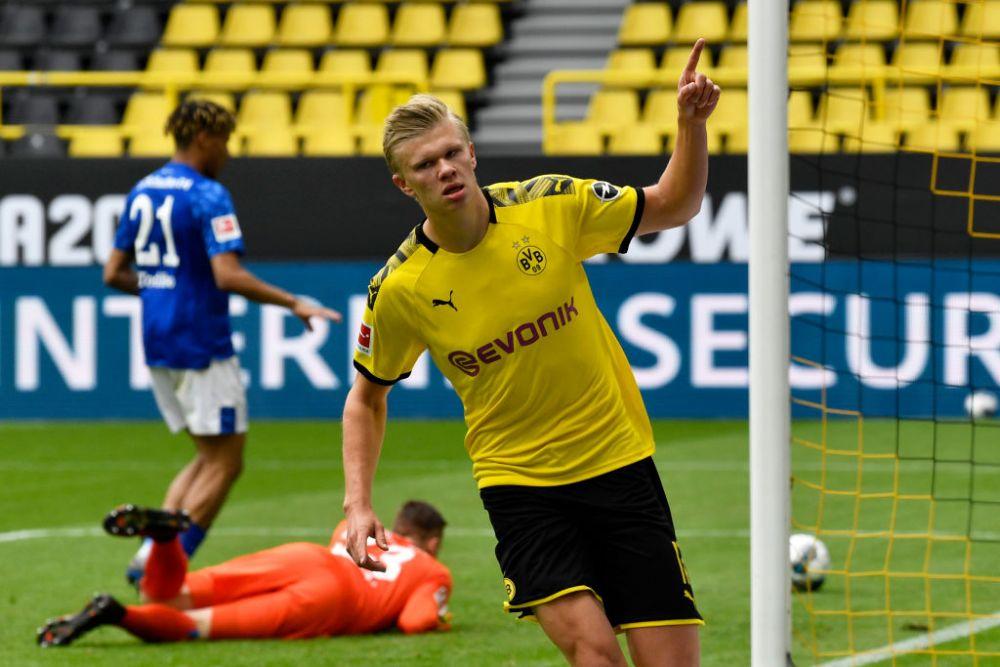 Alt sezon, acelasi Haaland! 'Mașina de goluri' a lui Dortmund, debut perfect în Cupa Germaniei! A înscris de trei ori