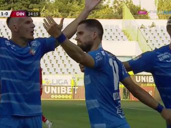 """Chindia Târgoviște - Dinamo   Florea i-a adus prima victorie lui Săndoi în Liga 1! Încă o înfrângere pentru """"câini"""""""