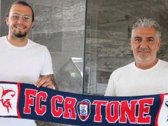 OFICIAL   Vasile Mogoș a semnat cu Crotone până în 2024!