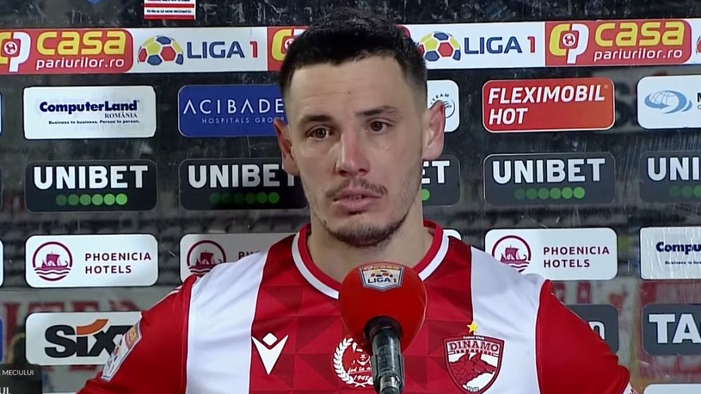 Continuă războiul dintre Paul Anton și Dinamo! Fotbalistul a pierdut procesul și nu poate rămâne liber de contract