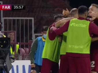 CFR Cluj - Farul Constanța 1-0   5 din 5 pentru Șumudică la CFR. Prima înfrângerea pentru Hagi în acest sezon