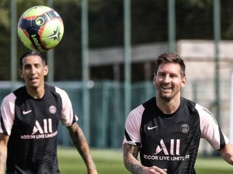 """""""Ne-a spus că joi semnează cu Barca!"""" Di Maria a dezvăluit cum i-a spus Messi că merge la PSG"""