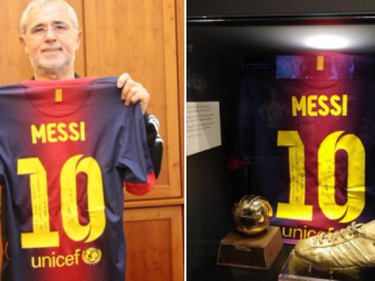 """FOTO Gestul impresionant pe care Messi l-a făcut când i-a doborât recordul lui Gerd Muller: """"Respectul și admirația mea"""""""
