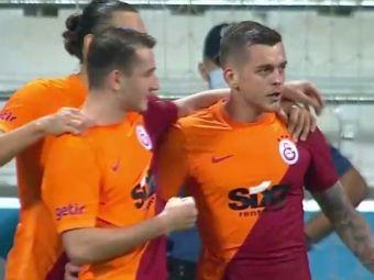 VIDEO | Cicâldău, debut cu gol la Galata! Scene incredibile în timpul meciului. Doi coechipieri și-au împărțit pumni