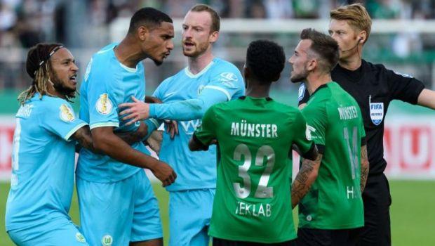 Situație nemaivăzută în Germania! Wolfsburg, eliminată din Cupă de o echipă de liga a patra, deși a câștigat pe teren