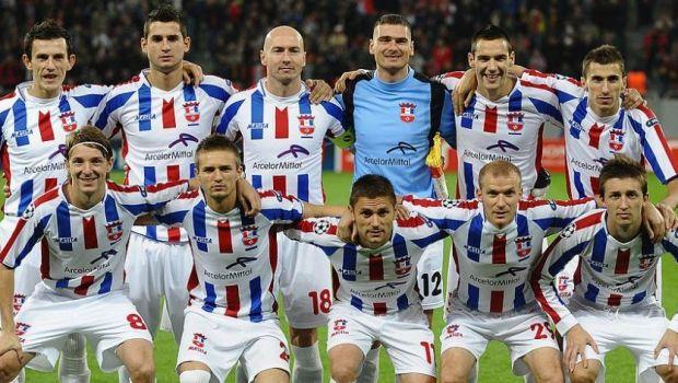 """LIVE VIDEOOțelul Galați, campioana din 2011, joacă ACUM un meci de gală cu """"Legendele României"""""""