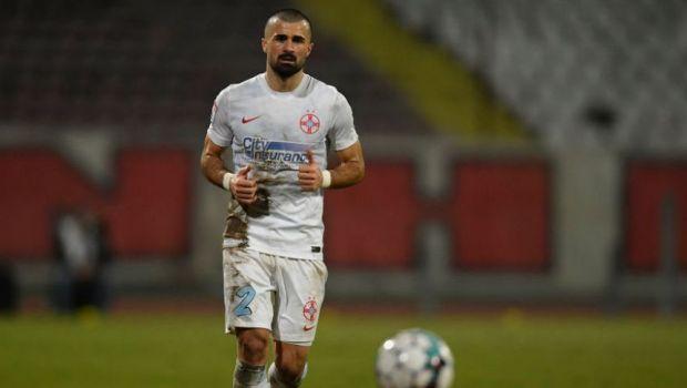 """""""Crețule, dacă erai șmecher îl criticai pe Todoran când era la echipă!"""" Un antrenor îl ceartă pe fundașul de la FCSB"""