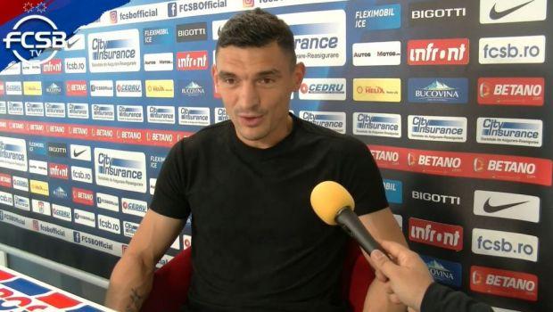"""""""Rachetă"""" în poartă lui Eșanu și discurs elegant la final. Ce a declarat Keșeru după FCSB - Dinamo 6-0"""
