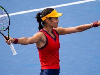 Emma Răducanu, dialog în română cu unul dintre fanii prezenți în tribune la US Open