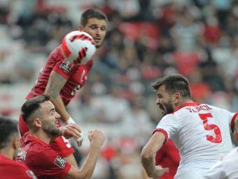 VIDEO | Radunovic, reușită superbă! Fundașul lui FCSB a marcat un gol spectaculos la ultima fază a meciului cu Turcia