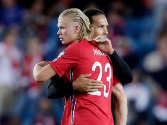 """""""La dracu, mi-ai rupt degetul!"""" Haaland l-a accidentat pe van Dijk și a dezvăluit reacția fundașului"""