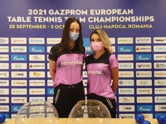 Ce adversare vor avea echipele României în grupele Europeanului de tenis de masă de la Cluj-Napoca