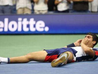 """Revelația spaniolilor, Carlos Alcaraz l-a învins la doar 18 ani pe Tsitsipas la US Open: """"Nu am văzut pe nimeni să lovească atât de puternic!"""""""