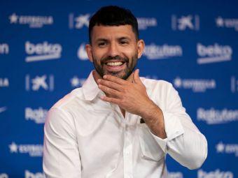 """""""De asta nu am ales numărul 10!"""" Aguero a explicat de ce a refuzat tricoul lăsat liber de Messi"""