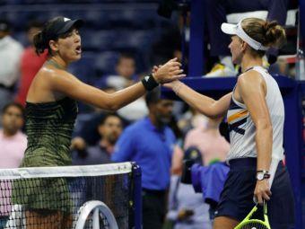 """S-a prefăcut accidentată? """"N-ai pic de profesionalism!"""" Garbine Muguruza, furioasă după ce a fost eliminată de la US Open"""