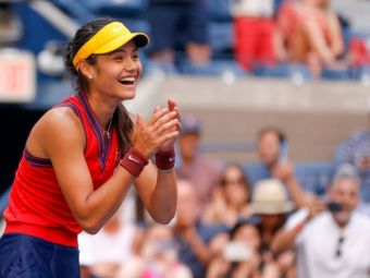 """Păzea, vine Emma Răducanu! Puștoaica urcă cel puțin 76 de poziții în clasamentul WTA după US Open: """"Joc mai bine aici decât la Wimbledon!"""""""