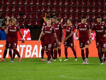 CFR Cluj a anunțat lotul de jucători cu care Petrescu va evolua în Conference League! Nume importante lăsate pe dinafară