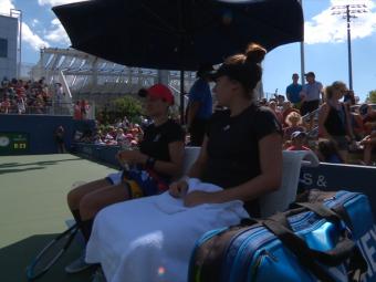 Monica Niculescu și Gabriela Ruse scriu istorie pentru tenisul românesc la US Open! S-au calificat în sferturi la dublu