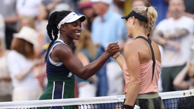 """De necitit! Mesajele horror primite de Sloane Stephens după ce a fost eliminată de la US Open. """"Le postez ca să vedeți și voi..."""""""