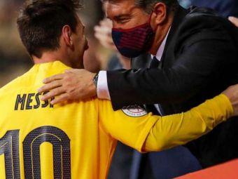 """""""Nu am mai vorbit cu el de atunci!"""" Joan Laporta a oferit noi detalii legate de plecarea lui Leo Messi"""