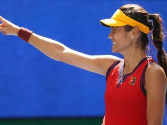 """""""Joacă fără frică!"""" Emma Răducanu, prima jucătoare din istorie care pornește din calificări și ajunge în semifinalele US Open"""