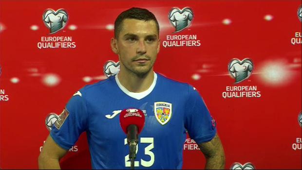 """EXCLUSIV   """"Jucătorii au venit să își ceară scuze!"""" Stanciu, sincer după remiza cu Macedonia de Nord! Ce a spus mijlocașul"""