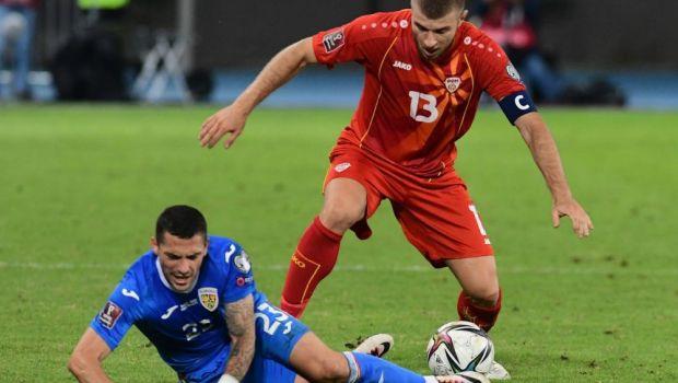 Cum a arătat statistica meciului cu Macedonia. Adversarii, superiori la toate capitolele importante