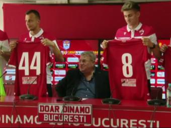 Patru pentru Dario! Dinamo și-a prezentat noile achiziții