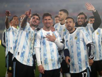 Sunt imaginile momentului! Messi, în lacrimi la primul meci de pe teren propriu după finala Copa America