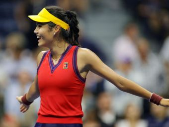 Emma Răducanu, record mondial reușit în premieră: e prima jucătoare venită din calificări care ajunge în finala unui Grand Slam