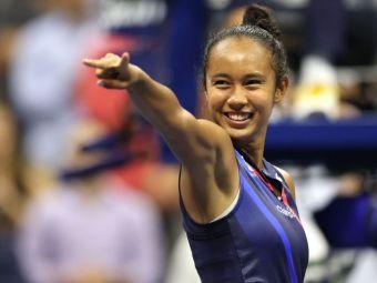 """Calificată în finala US Open la 19 ani, Leylah Fernandez dezvăluie: """"Când eram mică, un profesor mi-a spus să mă las de tenis!"""""""