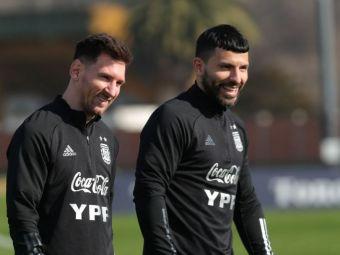 """""""Nu înțeleg de ce toată lumea vorbește despre asta"""". Aguero a reacționat după plecarea lui Messi de la Barcelona"""