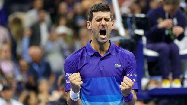 Novak Djokovic, la un singur pas de Marele Șlem! Fără surprize în turneul masculin, finala se joacă între numerele 1 și 2 ATP