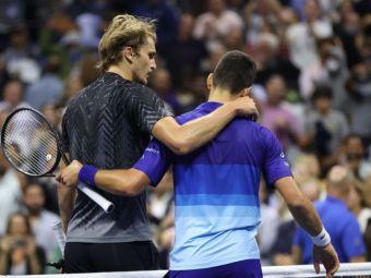 Djokovic l-a bătut pe Zverev exact cum a prezis că o va face! Desfășurare incredibilă a semifinalei de la US Open