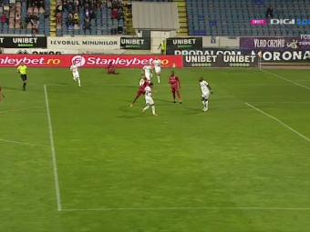 Primul meci, primul eșec! Înfrângere pentru Petrescu la revenirea pe banca CFR-ului, care pierde în premieră în acest sezon! Kage a înscris pentru Botoșani