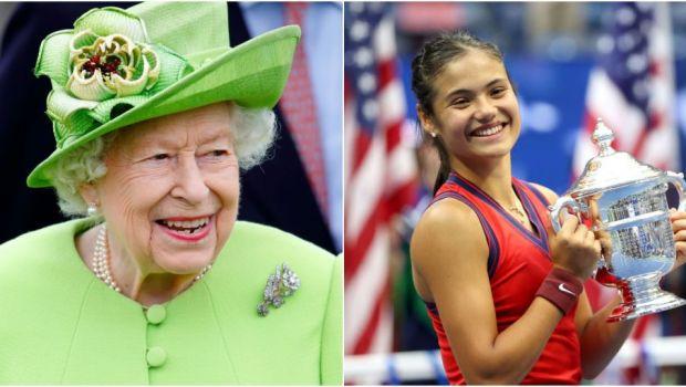 """Mesajul Reginei Angliei pentru Emma Răducanu după ce a câștigat finala US Open: """"E o reușită remarcabilă!"""""""